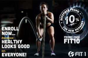 Fit1bootcamp december promo