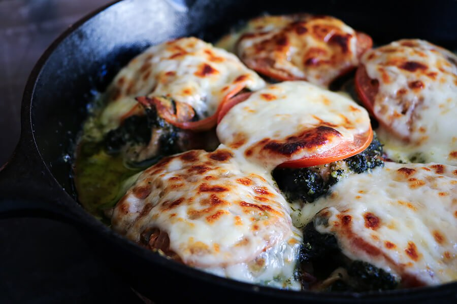 #WhatscookinWednesday:  Get Your Fat Burn On With This Caprese Chicken Thigh Keto Recipe