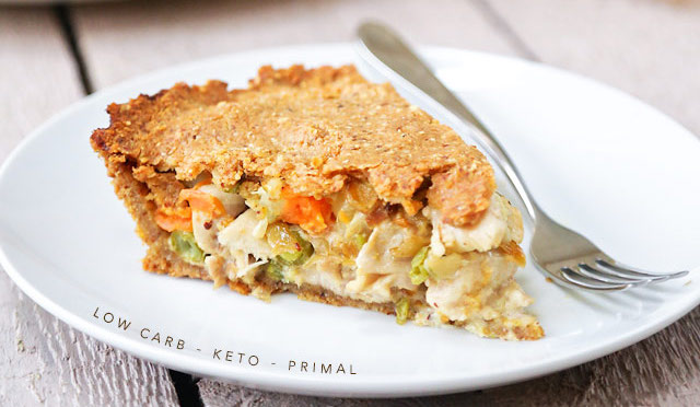 #WhatsCookinWednesday Keto Chicken Pot Pie