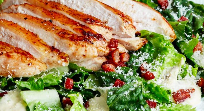 #WhatsCookinWednesday Keto Chicken Caesar Salad