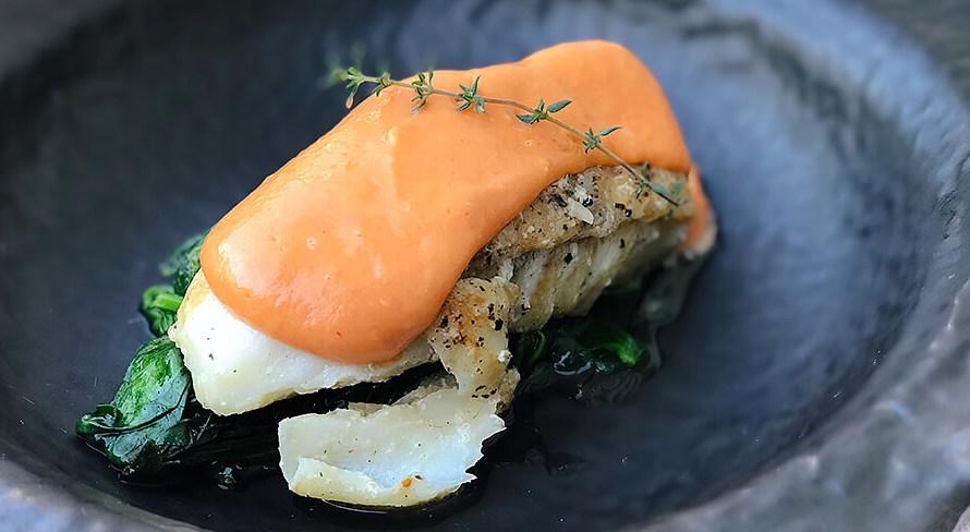 #WhatsCookinWednesday Pan Seared Cod with Tomato Hollandaise