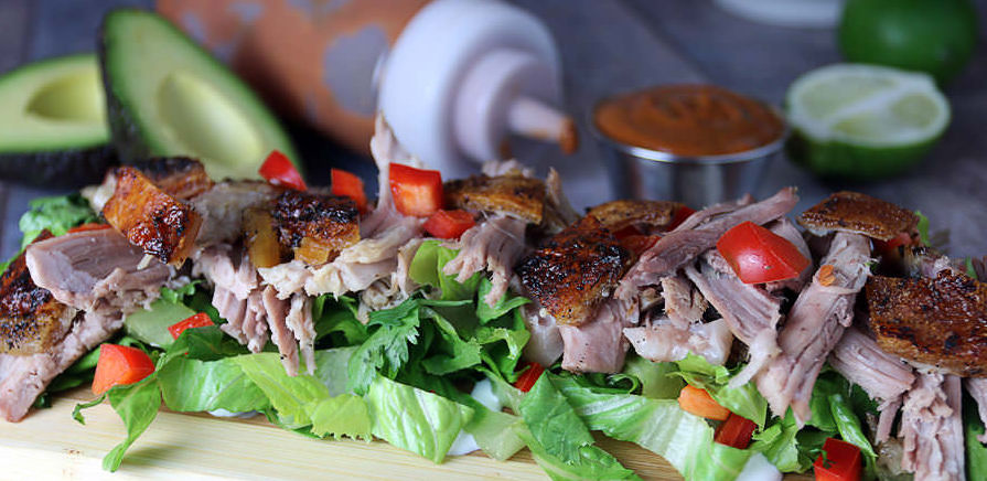 #WhatsCookinWednesday Thai BBQ Pork Salad