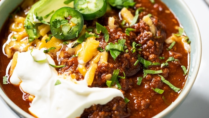 #WhatscookinWednesday Keto and Paleo Chili